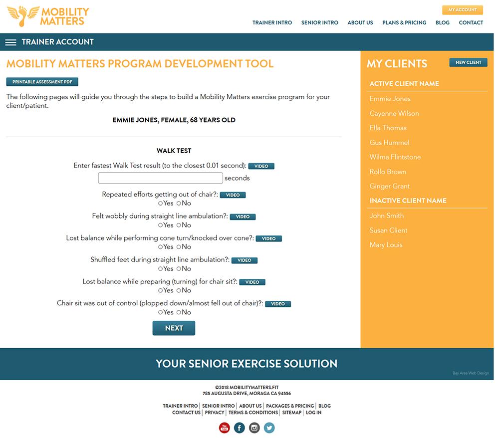 Blog - Mobility Matters - Senior Exercise Solution
